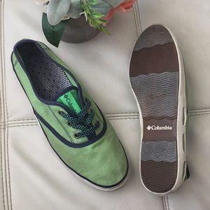 Columbia Green Tennis Shoes